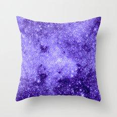 Lavender Galaxy Throw Pillow