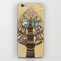 Owls Hotel iPhone & iPod Skin