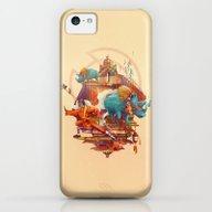Rhinos Stone iPhone 5c Slim Case