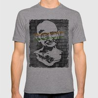 Gandhi Mens Fitted Tee Athletic Grey SMALL