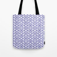 Karthuizer Blue & White Pattern Tote Bag
