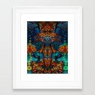 Magic Fairy Framed Art Print