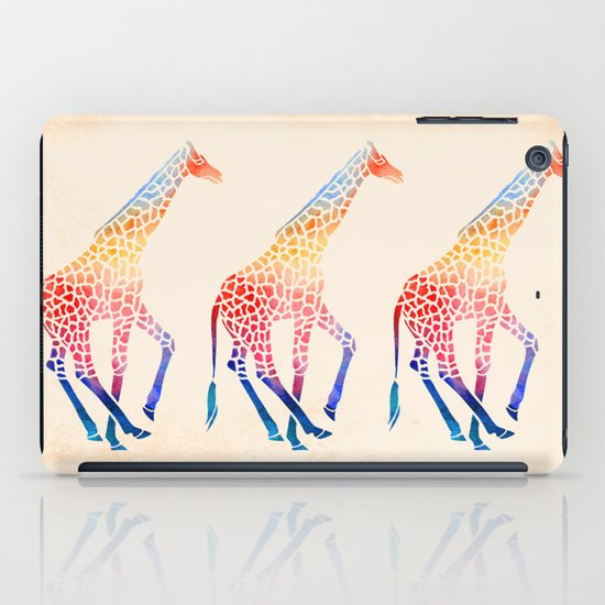 Watercolor Giraffe iPad Case