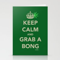 Keep Calm And Grab A Bon… Stationery Cards