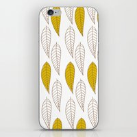 Golden Feather iPhone & iPod Skin