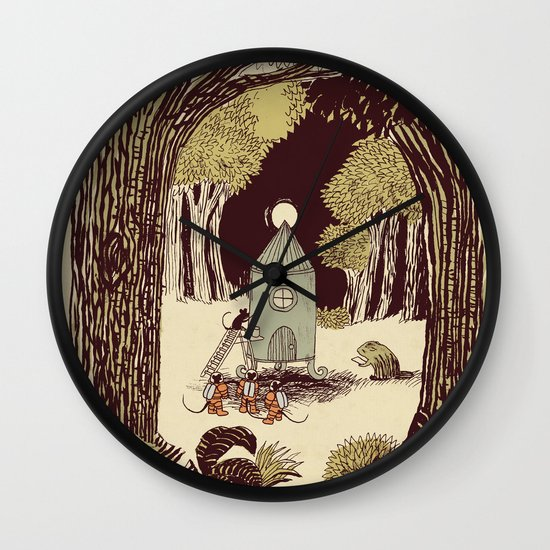 In the Clearing Wall Clock