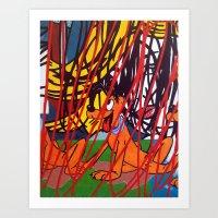 LICHTENSTEIN/ PLUTO Art Print