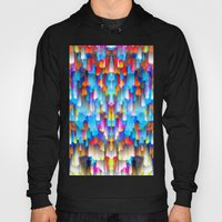 Colorful digital art splashing G397 Hoody