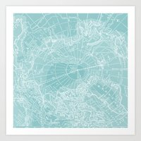 Polar Chill Art Print