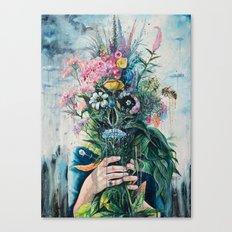 The Last Flowers Canvas Print