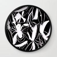 Snowy Forest II Wall Clock