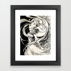 Moon princess Serenity -  Sailor Moon  Framed Art Print