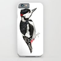 Great Spotted Woodpecker iPhone 6 Slim Case