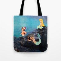 Peter Pan's Mermaid Lagoon Tote Bag