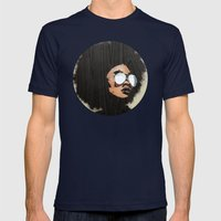 Venus Afro 02 Mens Fitted Tee Navy SMALL