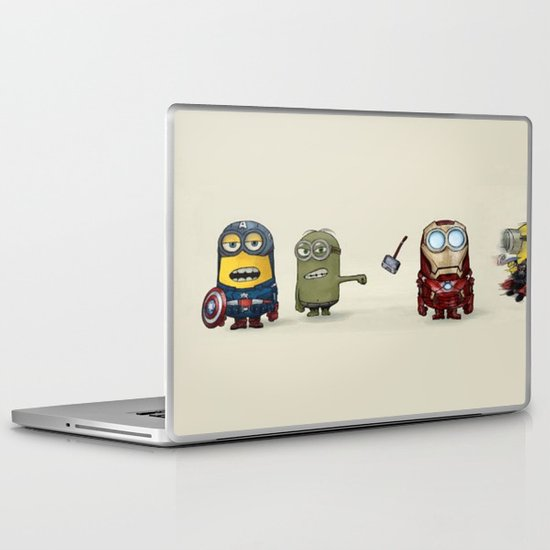 Minion Avengers Laptop & iPad Skin