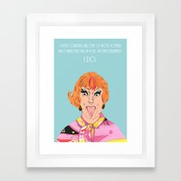 Happy Mother's Day from Endora Framed Art Print