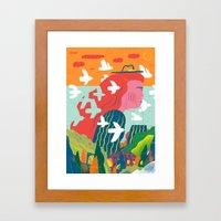Women and Freedom Framed Art Print