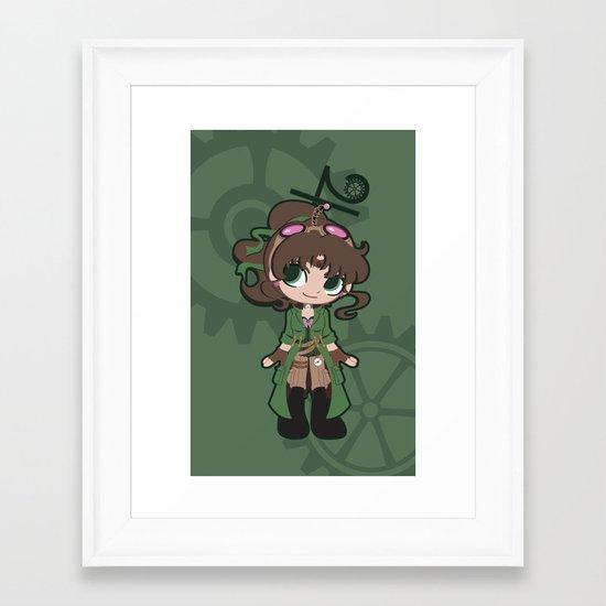 Steampunk Sailor Jupiter Framed Art Print