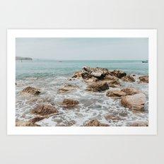 Playa Chacala Art Print