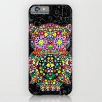 Owl Zentangle Floral   iPhone 6 Slim Case