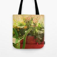 Flower Pots Tote Bag