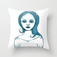 Monotone I Throw Pillow