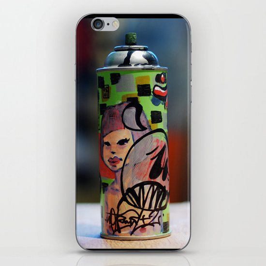 spray can iPhone & iPod Skin