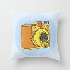 So Analog Throw Pillow