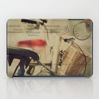 I just want to ride my bike today iPad Case