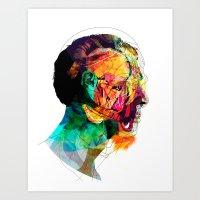 Perfil260913 Art Print