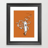 Today's Lunch Special Framed Art Print