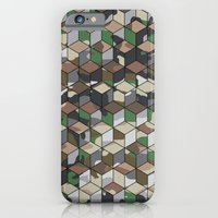 iPhone & iPod Case featuring CUBOUFLAGE MULTI (SMALL) by Oreezy