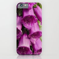 iPhone & iPod Case featuring Foxglove by ValerieWalter