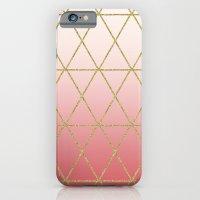 Rose Gold Geometric iPhone 6 Slim Case