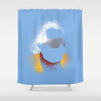 Damn! Damn! Shower Curtain
