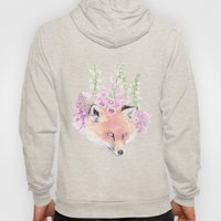 Fox & Foxgloves  Hoody