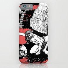 caveman red iPhone 6 Slim Case