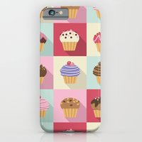 iPhone & iPod Case featuring Cupcakes by Rosa Puchalt