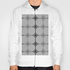 Black and White  Hoody