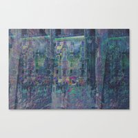 Undulated Delay Exacerba… Canvas Print