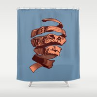 E=M.C. Escher Shower Curtain