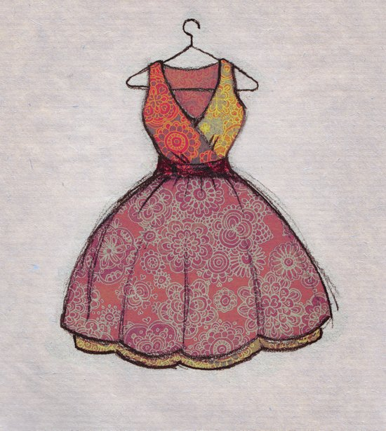 Put on your best dress... Art Print