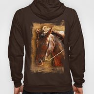 Portrait Of A Working Ho… Hoody