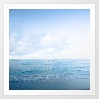 Calm Day Ver.blue Art Print