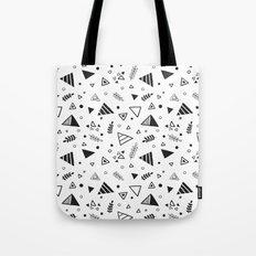 Organic Triangles Tote Bag