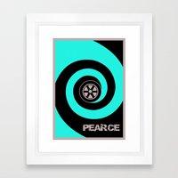Stuart Pearce - Psycho Framed Art Print