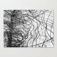 Caligraphy / 2006 Canvas Print