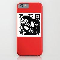 QR- Spiderman iPhone 6 Slim Case
