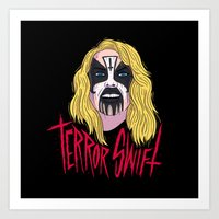 Terror Swift Art Print